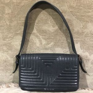 Quilted Leather Bally Bag